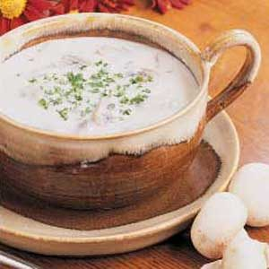 Golden State Mushroom Soup Recipe
