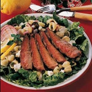 Pasta Salad with Steak Recipe