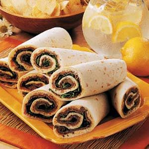 Beef 'n' Cheese Wraps Recipe