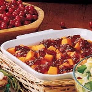 Cranberry-Apple Butternut Squash Recipe