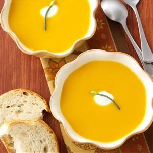 Zippy Chipotle Butternut Squash Soup Recipe