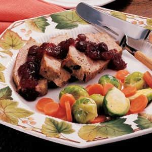 Cranberry Turkey Loaf Recipe