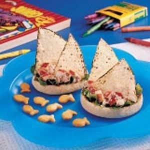 Tuna Schooners Recipe
