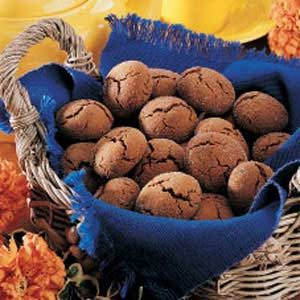 Lo-Cal Molasses Cookies Recipe