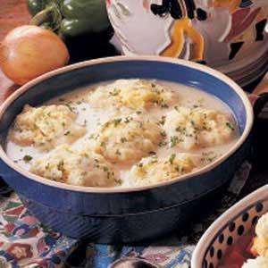 Baked Cornmeal Dumplings Recipe
