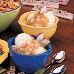 Apple Cider Sundaes Recipe