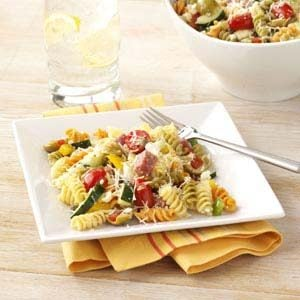 Mediterranean Vegetable Pasta Salad Recipe