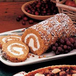 Pumpkin Cake Roll Recipe
