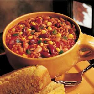 Chunky Vegetarian Chili Recipe