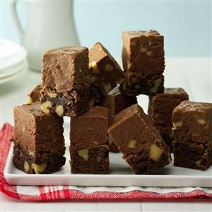 Fudge-Topped Brownies