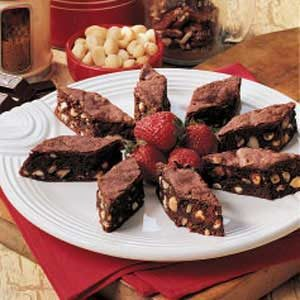 Snow Flurry Brownies Recipe