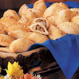 Savory Pork Turnovers Recipe