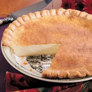 Mom's Custard Pie Recipe