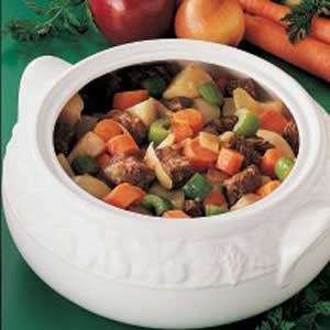 Homemade Apple Cider Beef Stew Recipe