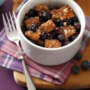 Cinnamon-Toast Blueberry Bakes Recipe