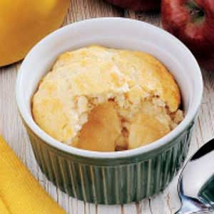 Individual Apple Cobbler