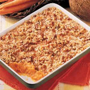 Baked Carrot Casserole Recipe