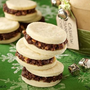 Cashew Sandwich Cookies Recipe