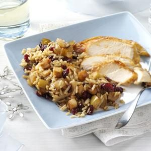 Cran-Apple Wild Rice Recipe