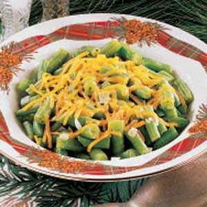 Cheddar Green Beans Recipe
