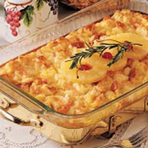 Country Pineapple Casserole Recipe