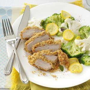 Parm-Breaded Pork Chops Recipe