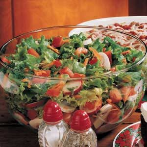 Herbed Tossed Salad Recipe