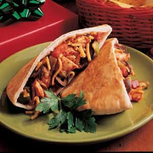 Turkey Pita Tacos Recipe