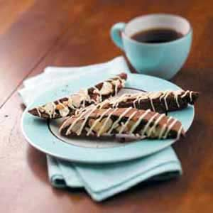 Brownie Alpine Biscotti Recipe