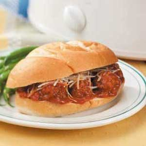 Italian Meatball Subs Recipe