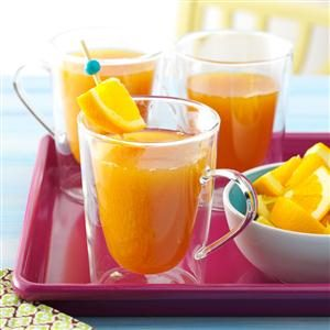 Peachy Spiced Cider Recipe