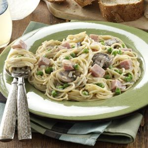 Pretty Ham Primavera Recipe