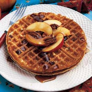 Buttermilk Pecan Waffles Recipe