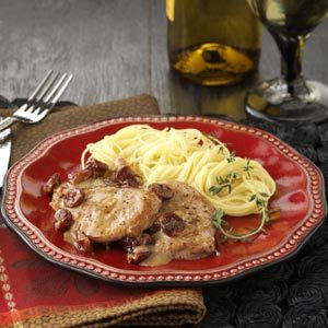 Pork Tenderloin with Dried Cherries Recipe