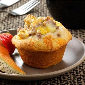 Breakfast Biscuit Cups