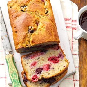 Double-Berry Quick Bread Recipe