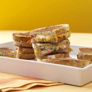 Mexican Grilled Cheese Sandwiches Recipe photo by Taste of Home