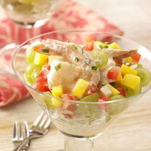 Shrimp Salad Cocktails Recipe