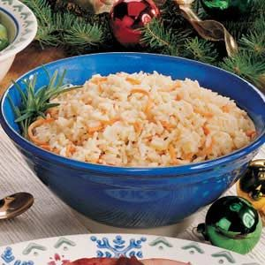 Quick Rosemary Rice