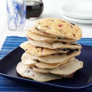 Almond Berry Pancakes Recipe