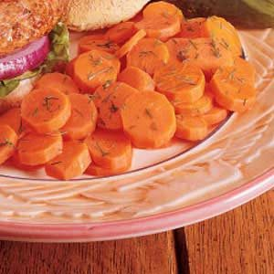 Carrots with Dill Recipe