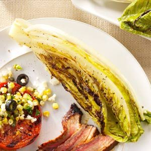 Grilled Romaine Hearts Recipe
