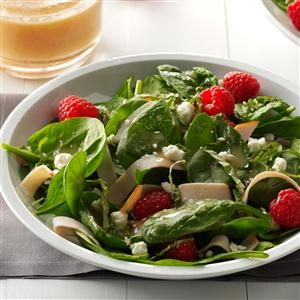 Smoked Turkey Salad with Raspberries Recipe