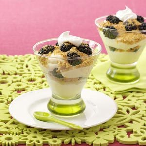 Lemon Blackberry Parfaits Recipe