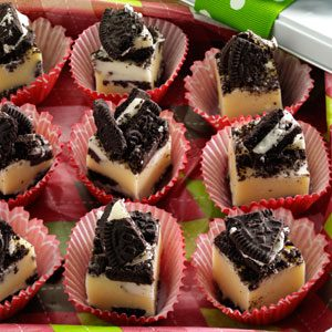 Cookies 'n' Cream Fudge Recipe