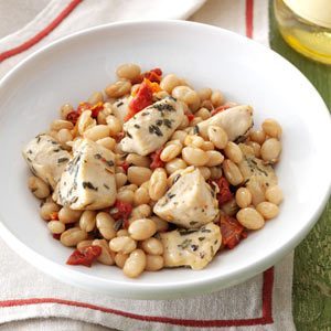Tuscan Chicken and Beans Recipe
