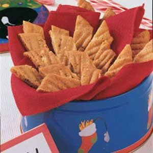 Licorice Cookie Strips