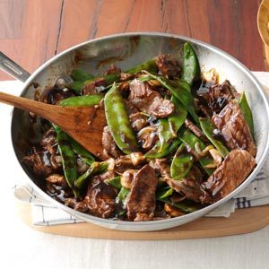 Snow Peas & Beef Stir-Fry Recipe