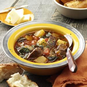 Roasted Poblano Beef Stew Recipe