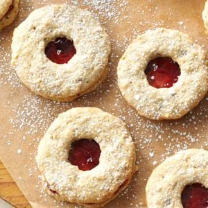 Jam-Filled Wreaths & Hearts Recipe